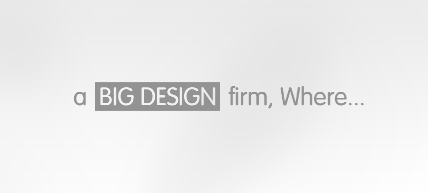 BIG Design Firm Where